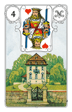Karte Haus im Lenormand