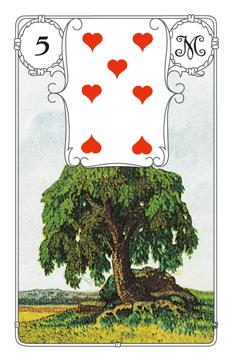 Karte Baum im Lenormand