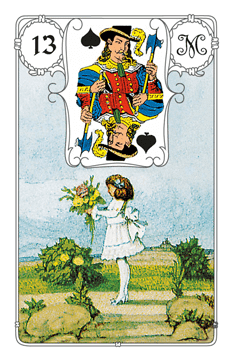 Karte Kind im Lenormand