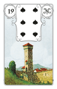 Karte Turm im Lenormand