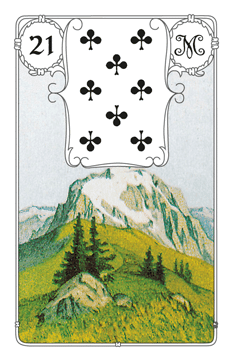 Karte Berg im Lenormand