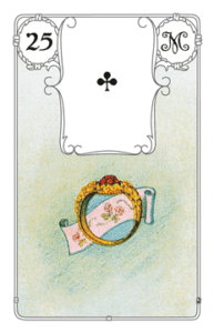 Karte Ring im Lenormand