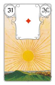 Karte Sonne im Lenormand