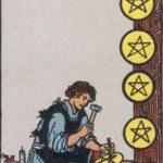 Acht der Münzen - Tarot Karte Deutung und Beschreibung