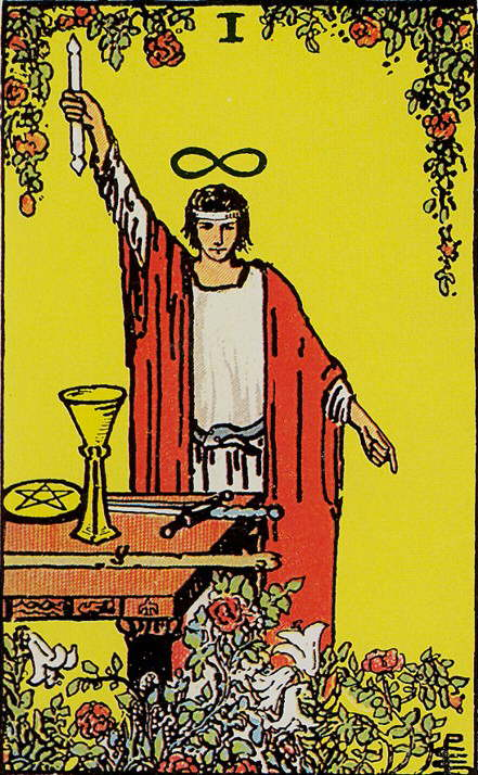 Der Magier - Bedeutung der Tarot Karte ⋆ Lenormandia