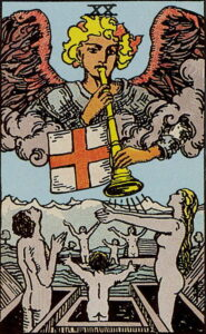 Das Gericht - Tarot Karte Deutung und Bedeutung